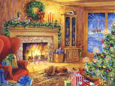 Кто приходит в Рождество