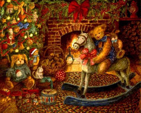 Дед Мороз - синий нос