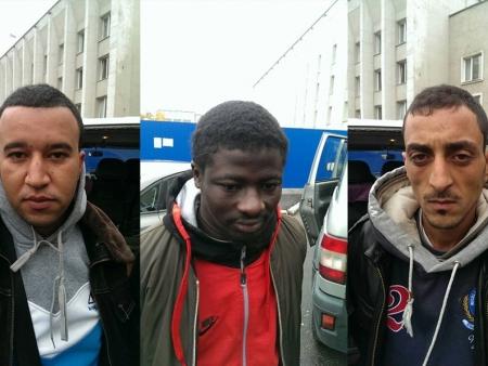 В Кингисеппском районе трое африканцев пытались пересечь границу с Эстонией, но попались ФСБ