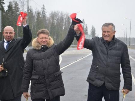 В Кингисеппском районе открыто движение по завершающему участку подъезда к порту Усть-Луга