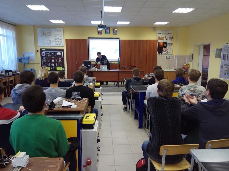 «ЕвроХим» провел серию открытых уроков для кингисеппских студентов