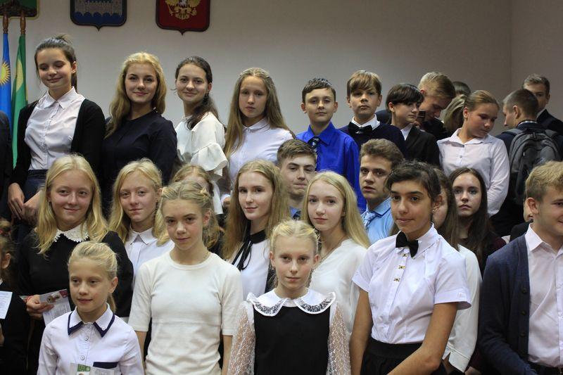 В Кингисеппском районе прошла церемония вручения знаков отличия комплекса ГТО