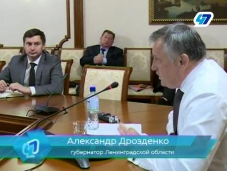 Александр Дрозденко высказал свое мнение по поводу транспортной ситуации в Кингисеппе. Видео