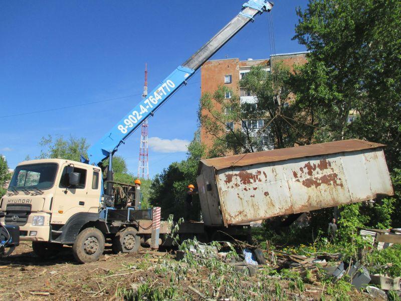 Большинство незаконных гаражей в Перми собственники убирают добровольно