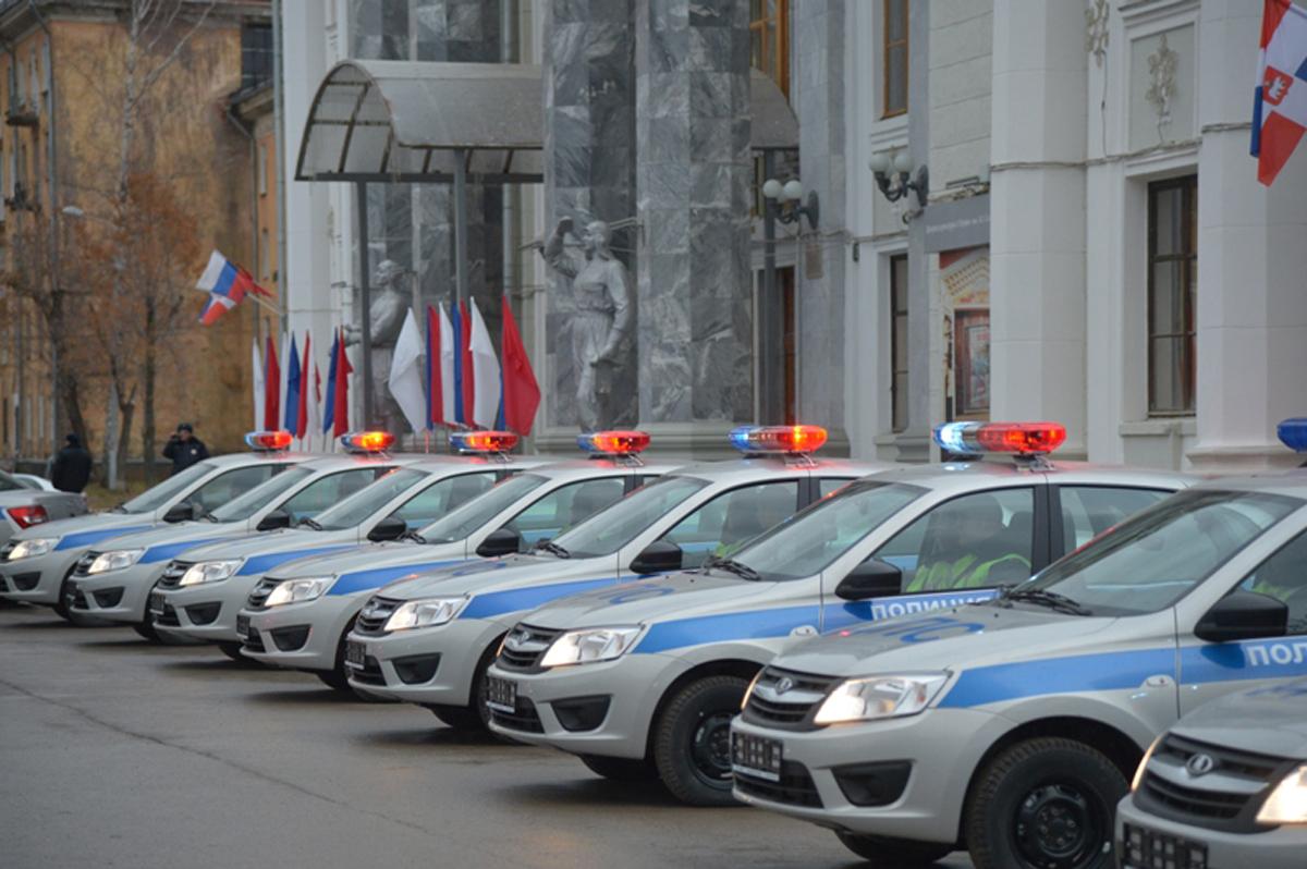 Автопарк МВД Прикамья пополнился 27 служебными машинами