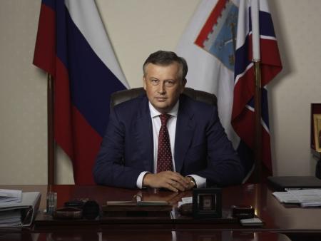 Александр Дрозденко проведет прямую линию с жителями региона. Номера телефонов