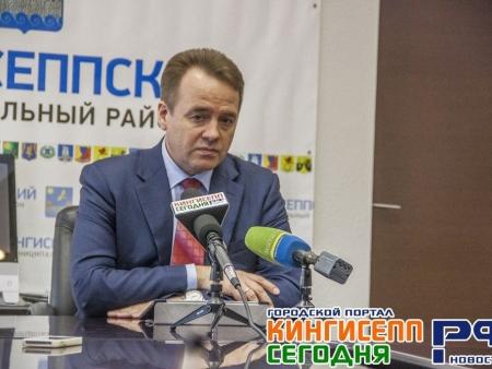 Виктор Гешеле организовывает встречу с жителями Кингисеппского района, представителями УК и ТСЖ