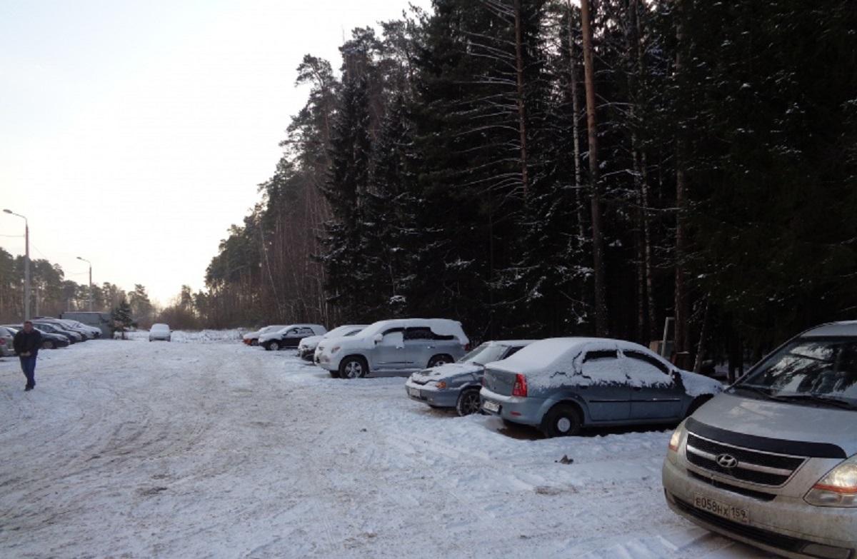В Кировском районе Перми демонтировали шестую незаконную автостоянку