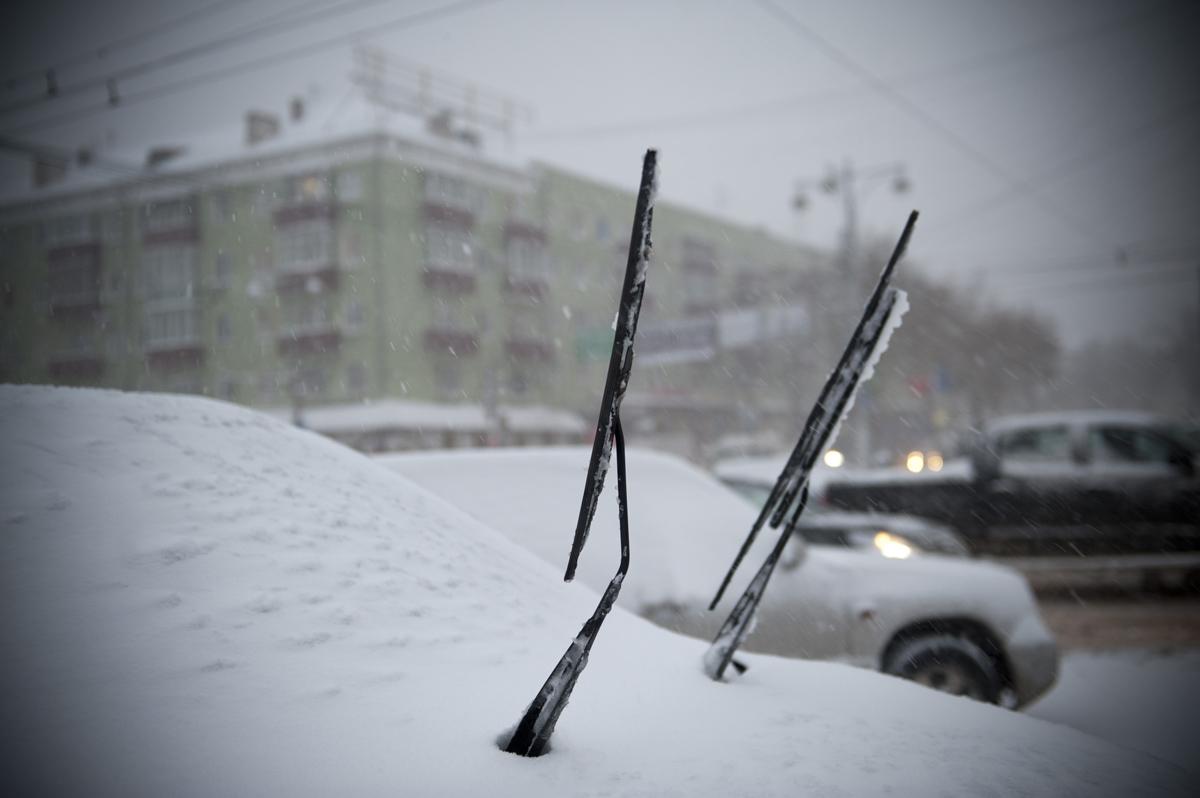 В выходные в Прикамье ожидается сильный снегопад